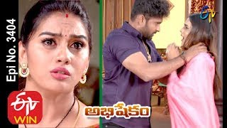 Abhishekam | 12th December 2019  | Full Episode No 3404 | ETV Telugu