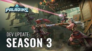 Paladins Dev Update Season 3