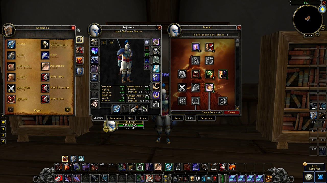 Level 60 Arms Warrior PvP Build: Talents & Macros - Classic World of  Warcraft