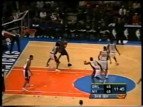Tracy McGrady 36pts Vs New York knicks (1/04/01) 2 Hand Dunk/ Clutch ... Tracy Mcgrady Magic Dunk