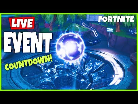 *NEW* LOOT LAKE ORB EVENT IS HAPPENING NOW! SEASON 10 COUNTDOWN TIMER- Fortnite Battle Royale