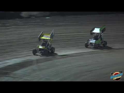 California Lightning Sprints at Bakersfield Speedway 11-18-17