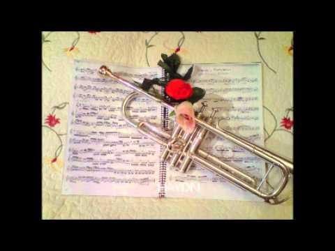 karaoke trompeta partitura haydn - 2º tiempo Andante