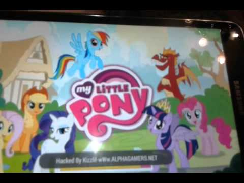 как взломать игру my little pony на деньги
