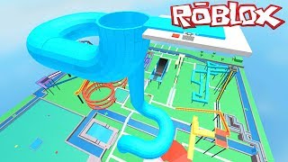 ESCAPE THE AQUATIC PARK!! ROBLOX WATER PARK