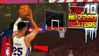 NBA 2K20 TOP 10 BUZZER BEATERS & Clutch Shot Plays Of The Week #15