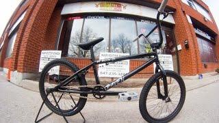 2014 DK Raven Black BMX Unboxing @ Harvester Bikes
