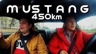 Wiozę klientów Taxify nowym MUSTANGIEM GT - 450KM mocy!