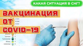 Вакцинация от коронавируса COVID 19 в России Украине Беларуси Казахстане Литве Латвии