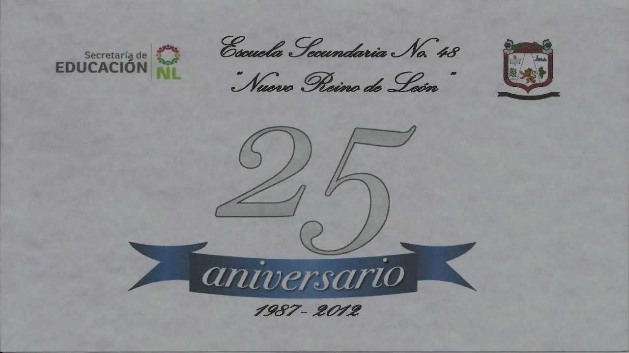 Frases Para Un Aniversario: 25 ANIVERSARIO (INVITACION)