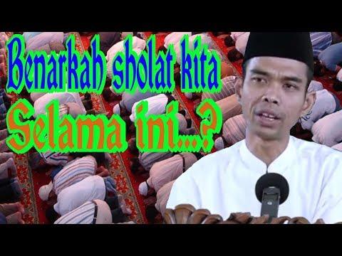 cara sholat yang benar, ustadz abdul somad ( versi full )