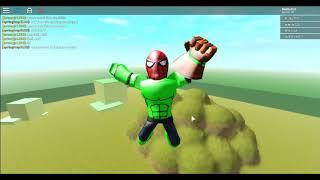 HULK SMASH - Roblox Marvel Super Heroes