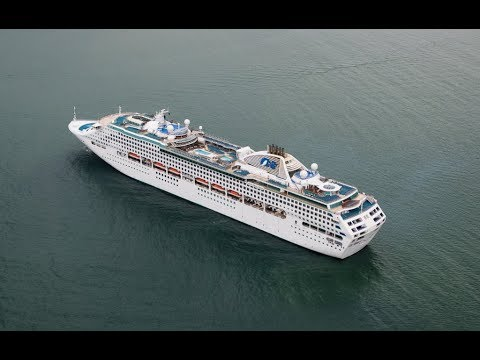 Cruising New Zealand onboard the Sun Princess