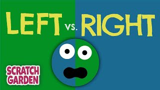 The Left vs. Right Song! | Scratch Garden