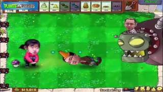 kids play plant vs zombies   kid gaming   extra pvz