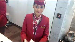 ✈ FIRST CLASS EXPERIENCE | Qatar Airways 777-200LR | Doha to Riyadh