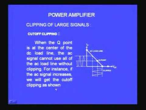 Lecture - 18 Power Amplifiers