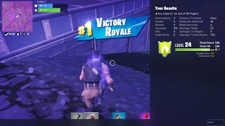 Fortnite Player 113e No Kill Battle Royale Victory Without Using Weapons or Materials - J156