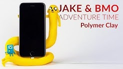Jake & BMO (Adventure Time) Phone Charging Dock – Polymer Clay Tutorial