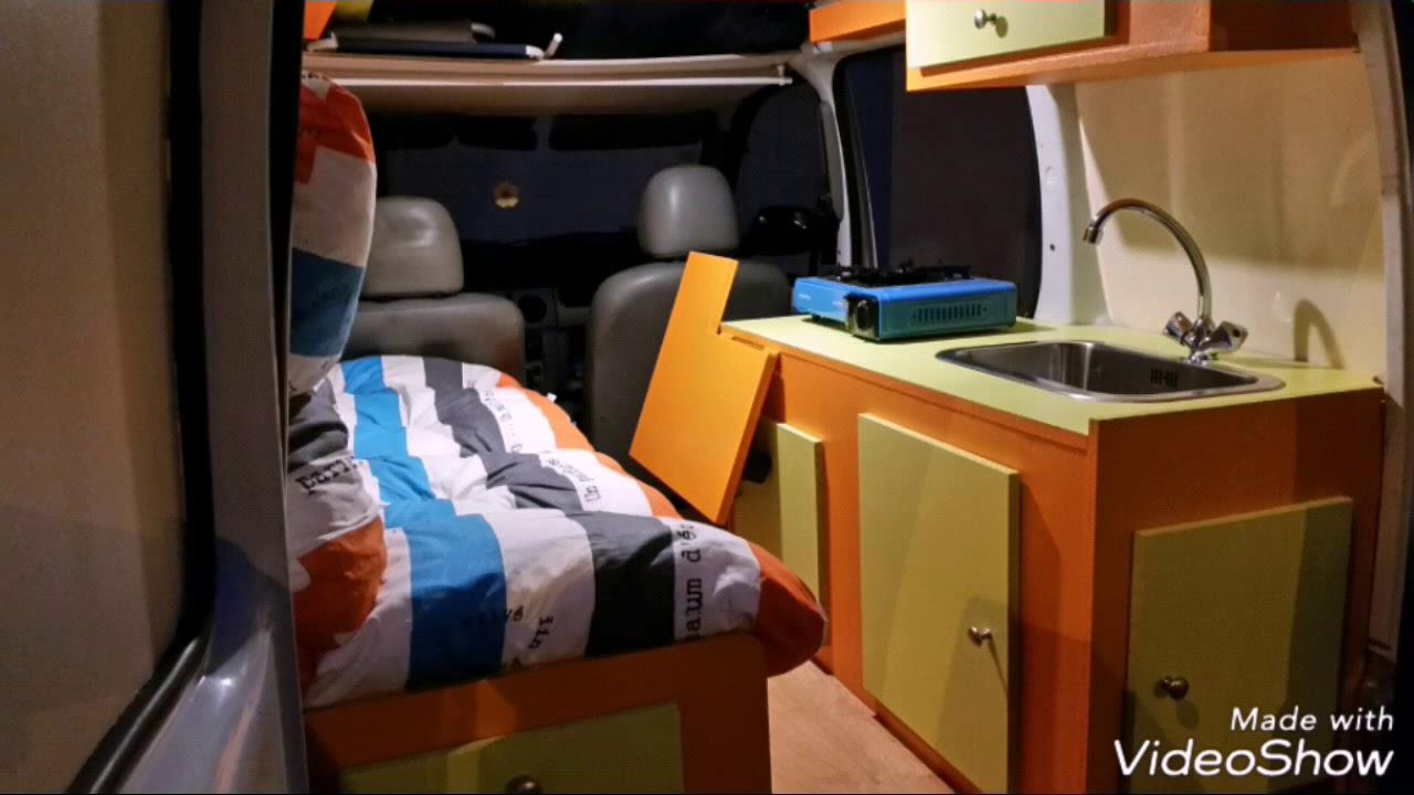 am nagement d 39 un kangoo youtube. Black Bedroom Furniture Sets. Home Design Ideas