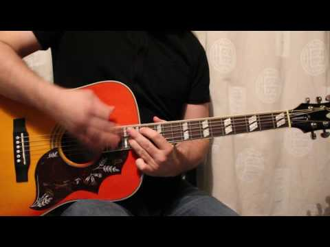 CHERUB ROCK (Acoustic) : Smashing Pumpkins Guitar Cover HD