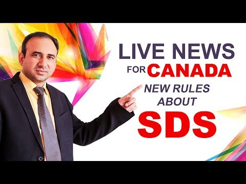 Live News for Canada New Rules about SDS