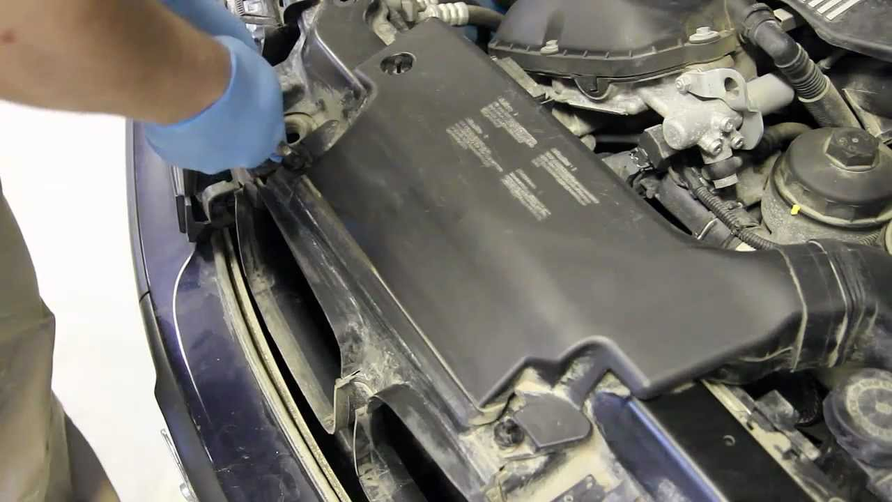 Remove Stock Oem Air Filter Box On 3 Series E46 Bmw Youtube