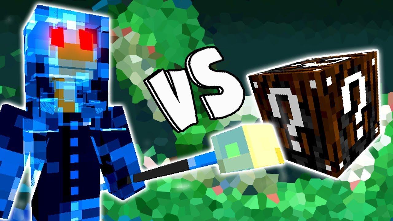 Espirito Da Luz Vs Lucky Block Incrivel Minecraft Lucky Block