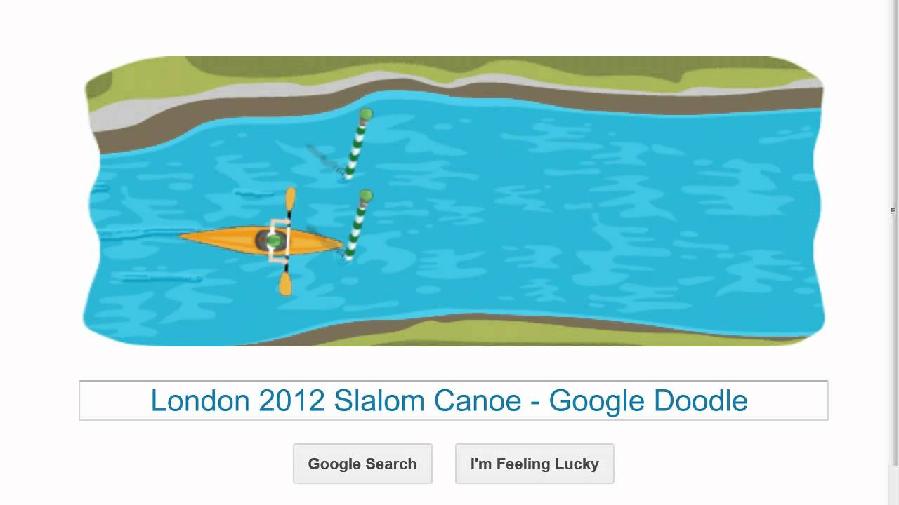 London 2012 Slalom Canoe Google Doodle Hd Youtube