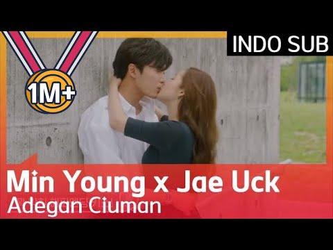 💋💋💋 Adegan Ciuman Episode 2 Park Min Young ♥ Kim Jae Uck #HerPrivateLife 🇮🇩 INDO SUB🇮🇩