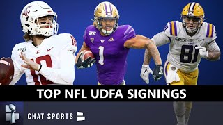 UDFA Tracker: Top 20 Undrafted Free Agent Signings After 2020 NFL Draft - Anthony Gordon & Thad Moss