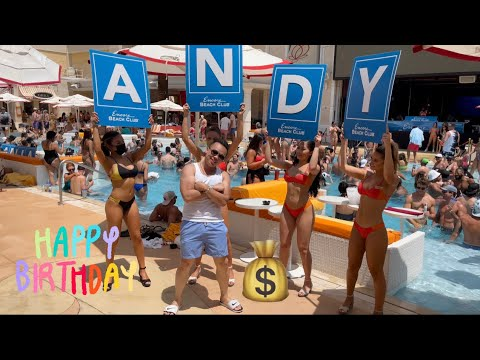 Download Happy Birthday Andy - Kygo @ Encore Beach Club - Best Pool Party in Las Vegas - VIP Bottle Service