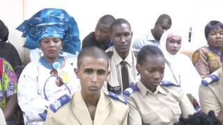 Women in Law Enforcement News Clip - Niamey, Niger