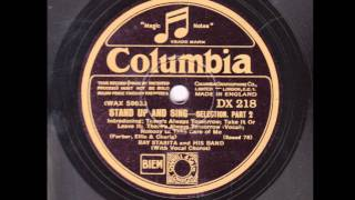 Ray Starita - Stand Up and Sing - Selection 1931