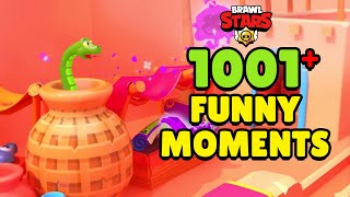 1001+ FUNNY MOMENTS Tara's Bazaar 🔮 Brawl Stars 2020 Wins, Fails, Glitches & More