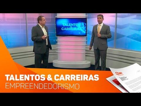 Quadro Talentos e Carreiras empreendedorismo - TV SOROCABA/SBT