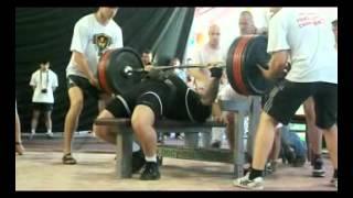bench press 315 kg@100 Eugene Nechaev