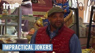 Impractical Jokers - Q Wets the Wrong Guy (Deleted Scene) | truTV
