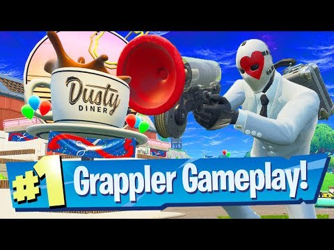 NEW Dusty Diner + Grappler Gameplay! (v5.4) - Fortnite Battle Royale