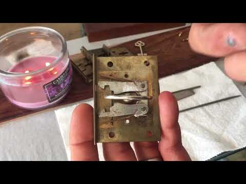 Antique Roll Top Desk ~ Key Making!