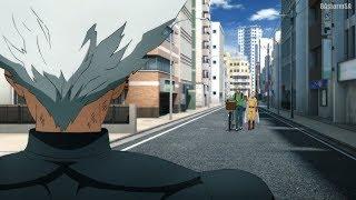 Сайтама и Кинг против Гароу / Saitama & King vs Garou [One Punch Man 2]
