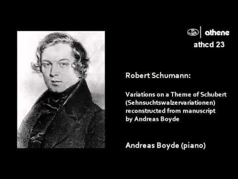 Schumann -   The Schubert Variations