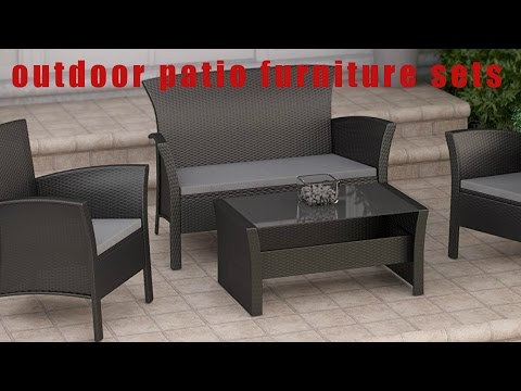 ♥♡♥♡♡The Ten Best Outdoor patio furniture sets review