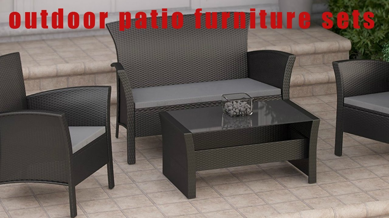 The Ten Best Outdoor patio furniture sets review YouTube