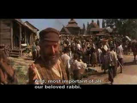Fiddler On The Roof Tradition With Subtitles Youtube