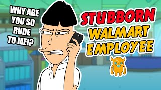 Most Stubborn WalMart Employee EVER - Ownage Pranks