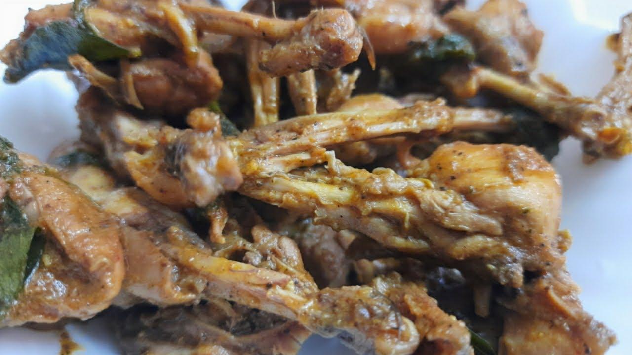 Kaadai pepper fry/kaadai pepper gravy /quail pepper fry/how to make kaadai pepper fry in tamil