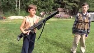 Nerf Kids: Boys vs Girls