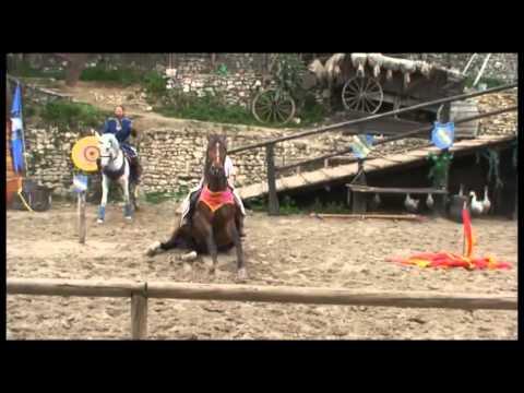 Spectacle - La Légende des Chevaliers - Equestrio - Provins