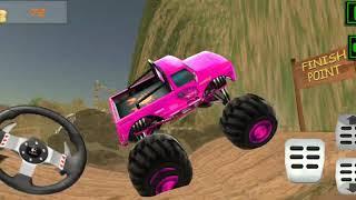 Mountain Climber 4x4 Wheeler Truck Android Gameplay